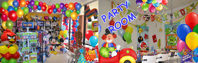 birthday party supplies dallas